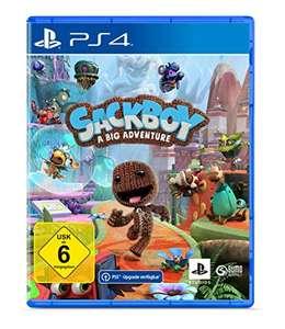 PS4 Sackboy: A Big Adventure - inkl. kostenlosem Upgrade auf die PS5 Version