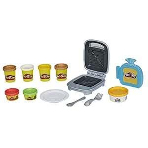 Play-Doh Kitchen Creations Sandwichmaker Set für Kinder ab 3 Jahren