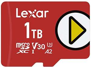 Lexar Play 1TB microSDXC UHS-I Karte, Bis Zu 150MB/s Lesegeschwindigkeit (LMSPLAY001T-BNNAG)