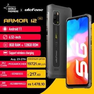 Outdoor Smartphone: Ulefone Armor 12 - 128GB + 8GB, 5G, IP68