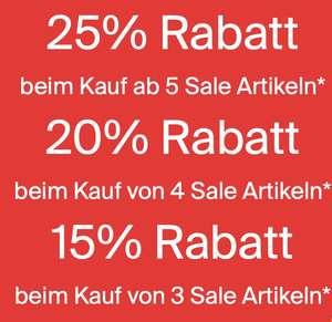 Esprit: Bis zu 25% Extra-Rabatt auf Sale-Artikel