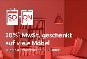 XXXLutz: 16,67% auf den Online Möbeleinkauf