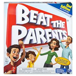 Spin Master Games Beat The Parents, Familien-Brettspiel