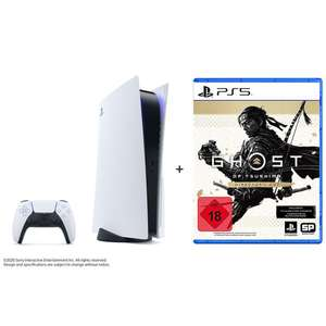 "PlayStation 5 Konsole im Bundle mit ""Ghost of Tsushima Director's Cut"""