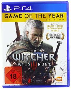 """""""The Witcher 3: Wild Hunt - Game of the Year Edition """" (PS4 / XBOX One) 1x Hexer mit Alles + Scharf"""