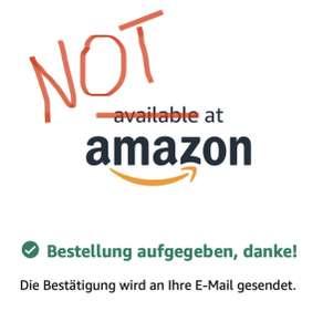 (Info) Amazon - aktuelle Bestellungen werden nicht bearbeitet