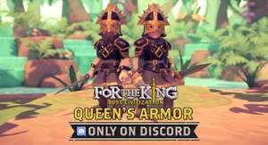 """""""For The King - Queen's Armor DLC"""" (PC Epic od. Steam / XBOX / PlayStation) gratis auf Discord abholen (Grundspiel war gratis im Epic Store)"""