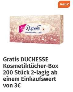 Müller: Gratis Kosmetiktücher ab 3€ Einkaufwert
