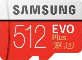 [Universal] Samsung Speicherkarte 512GB »EVO Plus 2020 microSD«, (UHS Class 10) (Bestpreis)