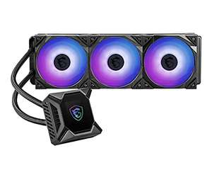 MSI MAG CORELIQUID K360 (CPU-Wasserkühlung, 360 mm, 3 Lüfter, Intel 115x/1200, AMD AM4/AM3+/TR4, schwarz, RGB & Display)