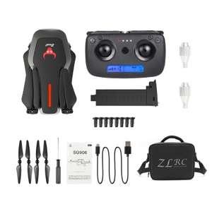 ZLRC Beast SG906 Drohne 4k Fotos FullHD Videos, inkl. 2 Akkus und Tasche