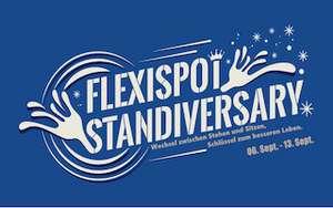 Flexispot 5 Jahres Jubiläum