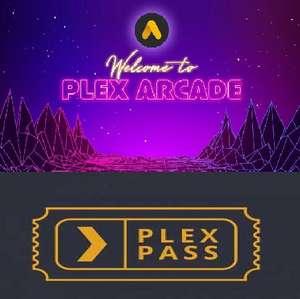 Plex Pass und/oder Plex Arcade gratis für einen Monat holen