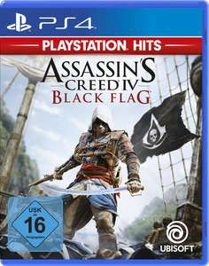 """Resident Evil 7"", ""Assassins Creed IV - Black Flag"", ""Street Fighter V"", ""Need for Speed Payback"", ... (PS4 je 9,99€)"