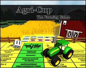 """Agri Cup - The Farming Game"" (Windows PC) Umsetzung des Brettspiels dzt. gratis auf itch.io"