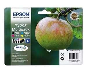 """Epson """"T1295"""" Multipack - Tintenpatrone (Schwarz, Cyan, Magenta, Gelb)"""