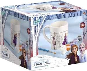 Frozen II Disney Becher zum Selbstbemalen