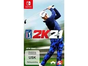 """""""PGA Tour 2K21"""" (Switch 10,99€) (PS4 / XBOX One 8,99€) bei Media Markt"""