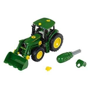 Theo Klein 3903 John Deere Traktor mit Frontlader und Gegengewicht