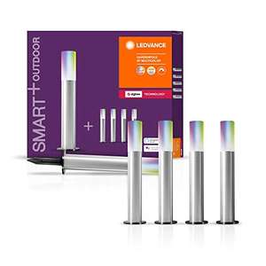 Osram Ledvance SMART+ Outdoor ZB Gardenpole Multicolour 5er Pack , kompatibel mit Hue