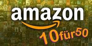 10 Blu Rays für 50€ Bei Amazon