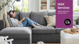 [IKEA] GRATIS LIEFERUNG auf Sofas