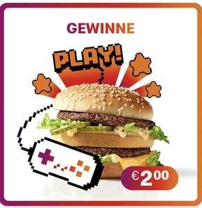 McDonald's App: Mini Games spielen und Gutscheine gewinnen