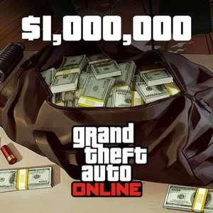 (PlayStation Plus) GTA Online: 1.000.000 $ gratis