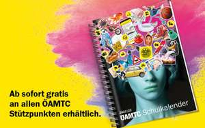 Gratis ÖAMTC Schulkalender 2021/22 bei ÖAMTC & McDonalds