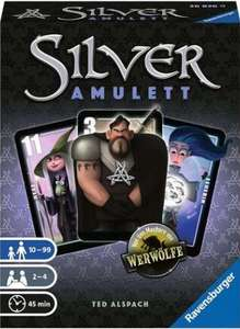 """Ravensburger Spiel: """"Silver - Amulett"""" Fantasy-Kartenspiel für 2-4 Spieler von 10-99 Jahren zum Bestpreis bei Müller (Abholung in Filiale)"""