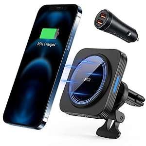 ESR HaloLock Magnetischer Charger für iPhone 12 (mini,Pro) mit Adapter für 36W Charge