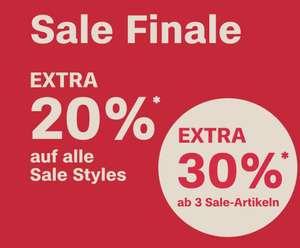 s.Oliver: 20% Extra-Rabatt auf Sale-Artikel, 30% Extra-Rabatt ab 3 Artikel