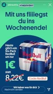 6 Red Bull um 1 Euro