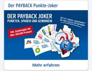 Der PAYBACK Joker ist wieder daaaa!