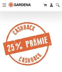 25% Cashback auf Gardena Gartenscheren