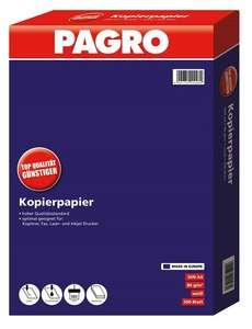 [Pagro] Kopierpapier A4 500 Blatt weiß ab 8 Pkg. um je ab 2,57€ inkl. Versand