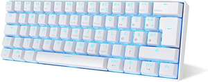 RK61Kabelgebundene oder Bluetooth 60% Mechanische Tastatur mit wählbaren Switches