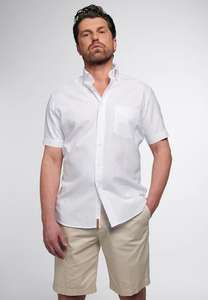 Eterna Regular FIT Upcycling Kurzarm-Hemd Größen 38 - 46