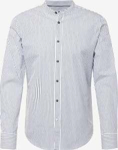 "s.Oliver ""Black Label"" Slim Fit Hemd (dunkelblau/weiß)"