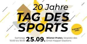 Tag des Sports am 25.09: 20-Jahr-Jubiläum mit Stars und Action