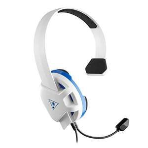Turtle Beach Recon Chat White Headset - PS4, PS5 & Xbox One - Prime