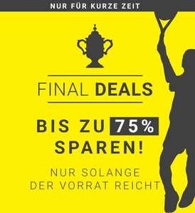 Final Deals bei Tennis Point - bis zu 75% Rabatt