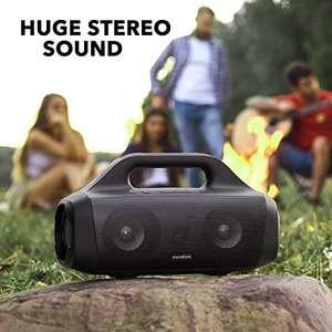 Soundcore Motion Boom Bluetooth Lautsprecher von Anker, mit Titan Audiotreibern, BassUp Technologie, IPX7 Wasserschutz, 24h Akku für 75,99