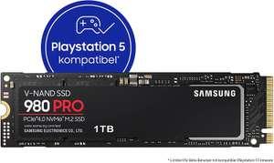 """(Wien) Samsung """"980 Pro"""" interne SSD (1TB, PCIe 4.0, bis zu 7.000 MB/s, PS5 kompatibel) - neuer Bestpreis"""
