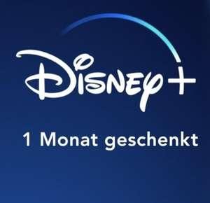 Disney+ 1 Monat Gratis für Neukunden & Kunden ohne aktiven Abo