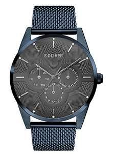 s.Oliver Herren Multi Zifferblatt Quarz Armbanduhr