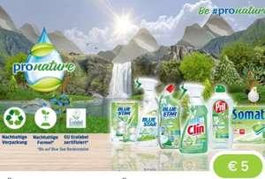 Marktguru + Payback: Pronature Reinigungsmittel sehr günstig bis gratis