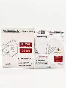 100 FFP2 Masken um 14,99€ (15c/Stück) oder 50 Stück um 10,39€ (21c/Stück)