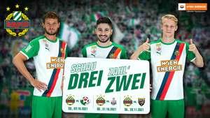 SK Rapid Wien: 3 Stadion Tickets zum Preis von 2