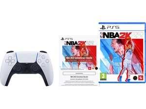 SONY DualSense Wireless Controller NBA 2K22 für PS5 + Schnellstart-Bundle + Füllartikel